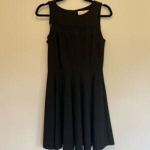 Black A-Line Amanda Uprichard Mini Dress